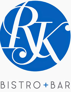 logo for RK Bistro and Bar